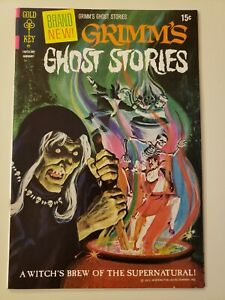 GRIMM'S GHOST STORIES #1. Gold Key. Jan 1972. Ultra Rare/Scarce. VF 8.0 or UP!