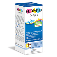 PEDIAKID Omega 3 For proper brain development and cognitive functions