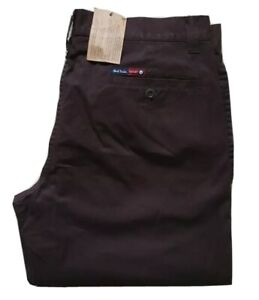 PAUL SMITH CHINOS TROUSERS CLASSIC FIT BROWN SIZE W 32 L 33 RRP £195 NEW W TAG