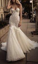 Bling Glitter And Flowers Berta Bridal Inspired Wedding Dress
