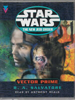 Star Wars The New Jedi Order Vector Prime 2 Cassette Audio Book R A Salvatore
