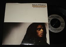 MAXI PRIEST   P/S 45 - HOW CAN WE EASE THE PAIN  1980s REGGAE -   MINT