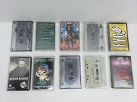 ROCK N ROLL CASSETTE TAPES 10 Pc. LOT #2