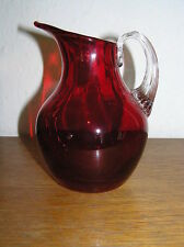 Vase Ruby Art Glass