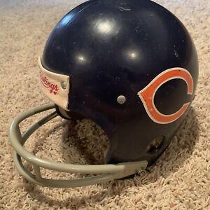 Vintage Rawlings Chicago Bears Football Helmet NFL Size Small