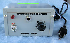 Patriot PRO-1000 Wood Burner by Everglades Tool/ BG-1 Pen - Made in America