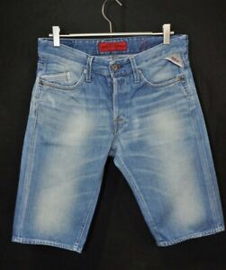 REPLAY M 997 JEANS SHORTS  BLUE size 31