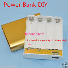 DIY Mobile Power Bank Charger for Cell Phone Iphone 18650 Battery USB 5V 1.5A