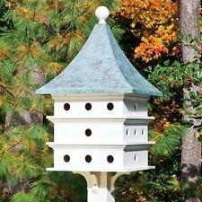Lazy Hill Farm Designs Ultimate Martin Bird House w/Blue Verde Copper Roof 43426
