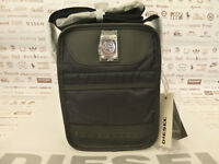 DIESEL Small Body Bag NEW FELLOW Black Combi Fabric Shoulder Bags BNWT RRP£75