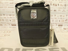 DIESEL Small Body Bag NEW FELLOW Black Combi Fabric Shoulder Bags BNWT RRP£75