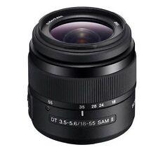 Objetivos automático y manual Sony para cámaras