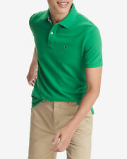BNEW TOMMY HILFIGER Fern Green Ivy Mens Polo Shirt, Small