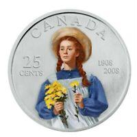 Canada 2008 Anne of Green gables Specimen Gem UNC Quarter!!