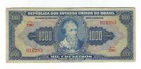 1000 Cruzeiros Brasilien 1943 C048 / P.141 - Brazil Banknote
