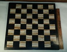 Marble Tile Game Board for Playing Chess or Checkers