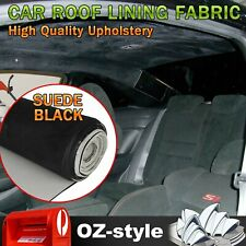 Headliner Fabric Suede Material Auto Upholstery Foam Roof Lining Renew 1.5Mx3.2M
