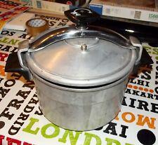 Ancienne Cocotte Minute cuiseur vapeur seb 6,5 à 8 L. légume Riz pomme de terre