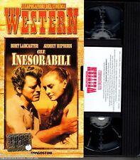 Gli Inesorabili  (1960) VHS editoriale DeAgostini + libretto