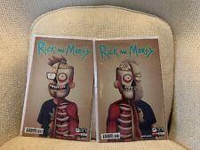 RICK & MORTY 50 Justin Roiland & Dan Harmon Variant Set - Ultra Rare - NM+