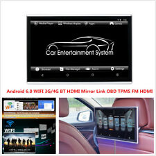 """11.6"""" HD 1080P Android 6.0 Touch Screen Car Headrest Monitor WIFI 3G/4G BT HDMI"""