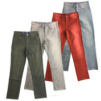 Mens Chinos Slim Fit Jeans Cotton Trousers Pants