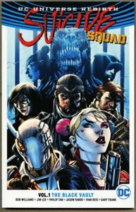 GN/TPB Suicide Squad Volume 1 One 2017 nm 9.4 1st DC Rebirth
