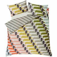 Orla Kiely Dog Show Duvet Cover 100% Cotton Bedding 200 Thread Count