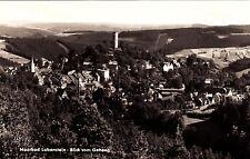 Moorbad Lobenstein , Blick vom Geheeg , Ansichtskarte, 1971 gelaufen