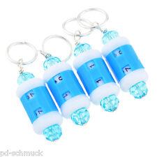 4 Blau Maschenmarker Maschenmarkierer mit Universal-Reihenzähler Zählwerk