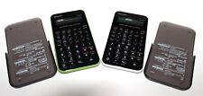 2 Sharp Calculators El-501X Scientific Euc