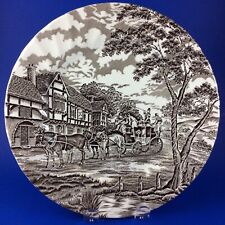 "Myott Royal Mail Brown 10"" Dinner Plate"