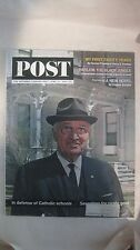 The Saturday Evening Post Magazine June 13th 1964 President Truman 1st 80 Years
