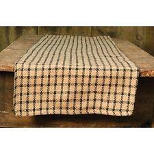 Farm House Checkered Long Table Runner