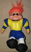 "VINTAGE 1991 TROLL  Football Player BIG 11"" TALL"