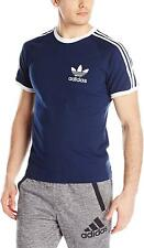 Men's Adidas Originals T-shirt California Classic Tee Navy