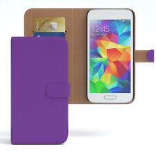 Tasche für Samsung Galaxy S5 Mini Case Wallet Schutz Hülle Cover Lila