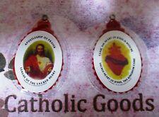 Sacred Heart Badge in Soft Plastic  NEW