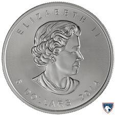 2014 1 oz Canadian Silver Maple Coin (BU) - SKU 0141