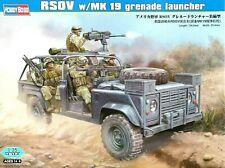 Hobbyboss 1:35 Land Rover RSOV With Mk.19 Grenade Launcher Model Kit