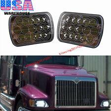 LED Headlights For International IHC Headlight Assembly 9200 9400i 9900 A Pair