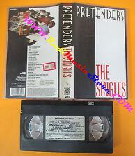 VHS PRETENDERS The singles 1987 WEA MUSIC VIDEO 242230-3 no cd lp dvd(VM10)