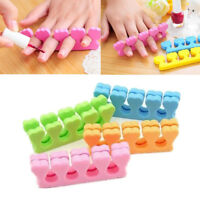 20 Soft Sponge Foam Finger Toe Separator Nail Art Salon Pedicure Manicure JU6