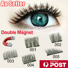 4 Pcs Magnetic Reusable Handmade False Eyelashes Magnet Eye Lashes Extension