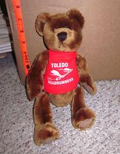 TOLEDO ROADRUNNERS plush teddy bear OHIO jogging 1999 doll TRRC fitness toy