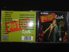 CD THE ORIGINAL SEX PISTOLS / LIVE /