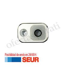 Anillo embellecedor cámara trasera para Samsung Galaxy Note 3 N9005 N9000 Blanco