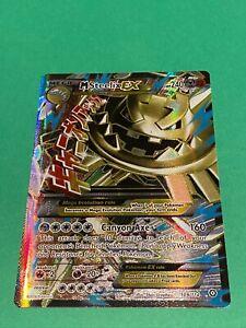 Mega M Steelix EX 109/114 Full Art Ultra Rare Steam Siege Pokemon Holo Foil