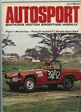 Autosport July 5th 1968 *Vauxhall Viva GT Road Test*