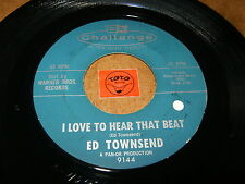 ED TOWNSEND - I LOVE TO HEAR THAT BEAT - YOU WALKED -  LISTEN - RNB SOUL POPCORN